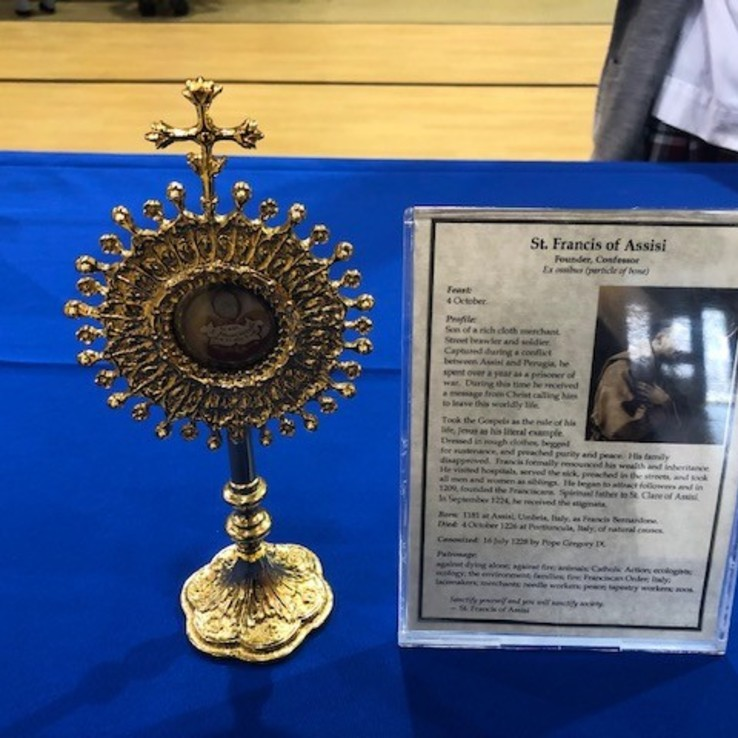 St. Francis Of Assisi Relic