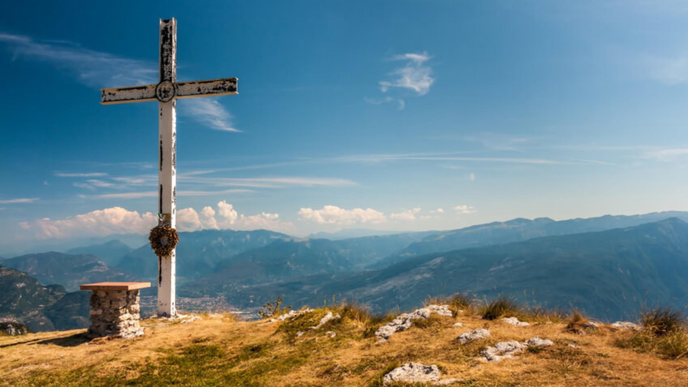 Cross On Mountain